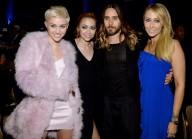 With Brandi Cyrus, Jared Leto, + Tish Cyrus