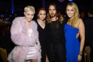 With Brandi Cyrus, Jared Leto, + Tish Cyrus