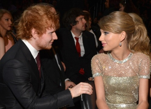 Ed Sheeran + Taylor Swift, 56th Annual Grammy Awards