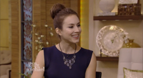 Troian Bellisario on 'Live with Kelly & Michael'