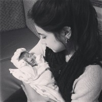 @deleasakathleen: my first time holding the little princess at the hospital ❤️
