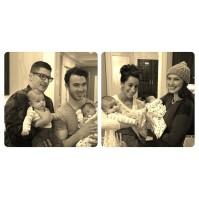 @dinadeleasagonsar: Alena and her new boyfriends James hehe @carollago @daniellejonas