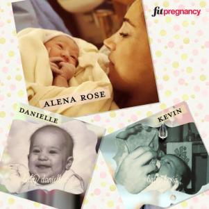Alena Rose, Kevin + Danielle Jonas Baby Pictures
