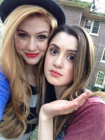 Co-Stars Kat McNamara and Laura Marano