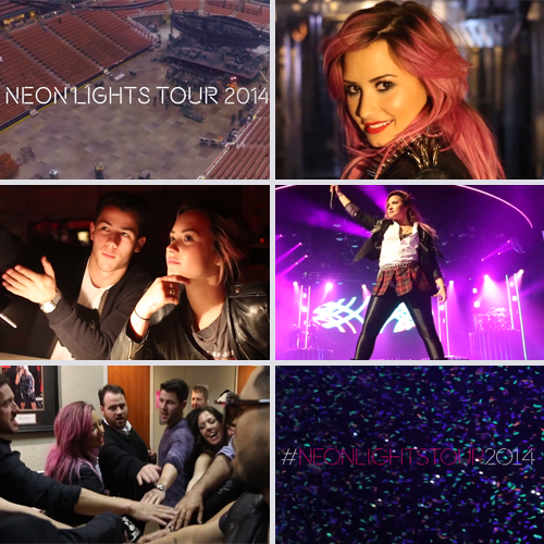 Demi Lovato - Neon Lights Tour - BTS Week One