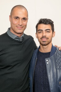 With Nigel Barker