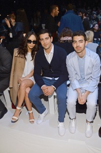 With Cara Santana and Jesse Metcalfe