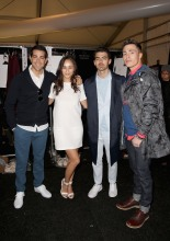 With Jesse Metcalfe, Cara Santana, and Colton Haynes