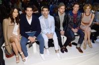 Cara Santana, Jesse Metcalfe, Joe Jonas, Steven Taylor, Colton Haynes, and Bella Thorne