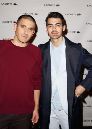 With Lacoste designer Felipe Oliveira Baptista