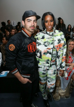 With Kelly Rowland