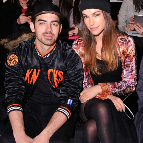Joe Jonas + Blanda Eggenshwiler - Custo Barcelona Fall 2014 - Front Row