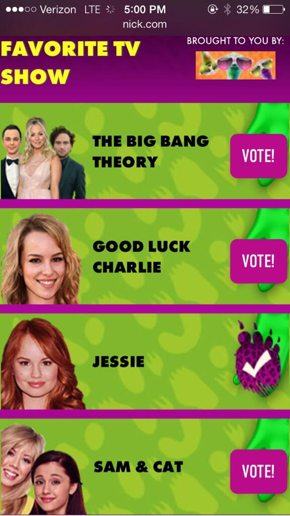 ... Voted For 'Jessie' To Win A Kid's Choice Award! – TeenInfoNet