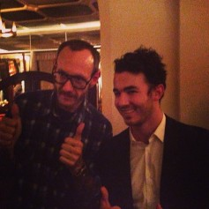 @kevinjonas: So this happened tonight met terry Richardson #terryisawesome