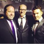 With Sean Finnegan and Paul Haggis