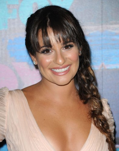 LEA MICHELE at FOX All-Star Party