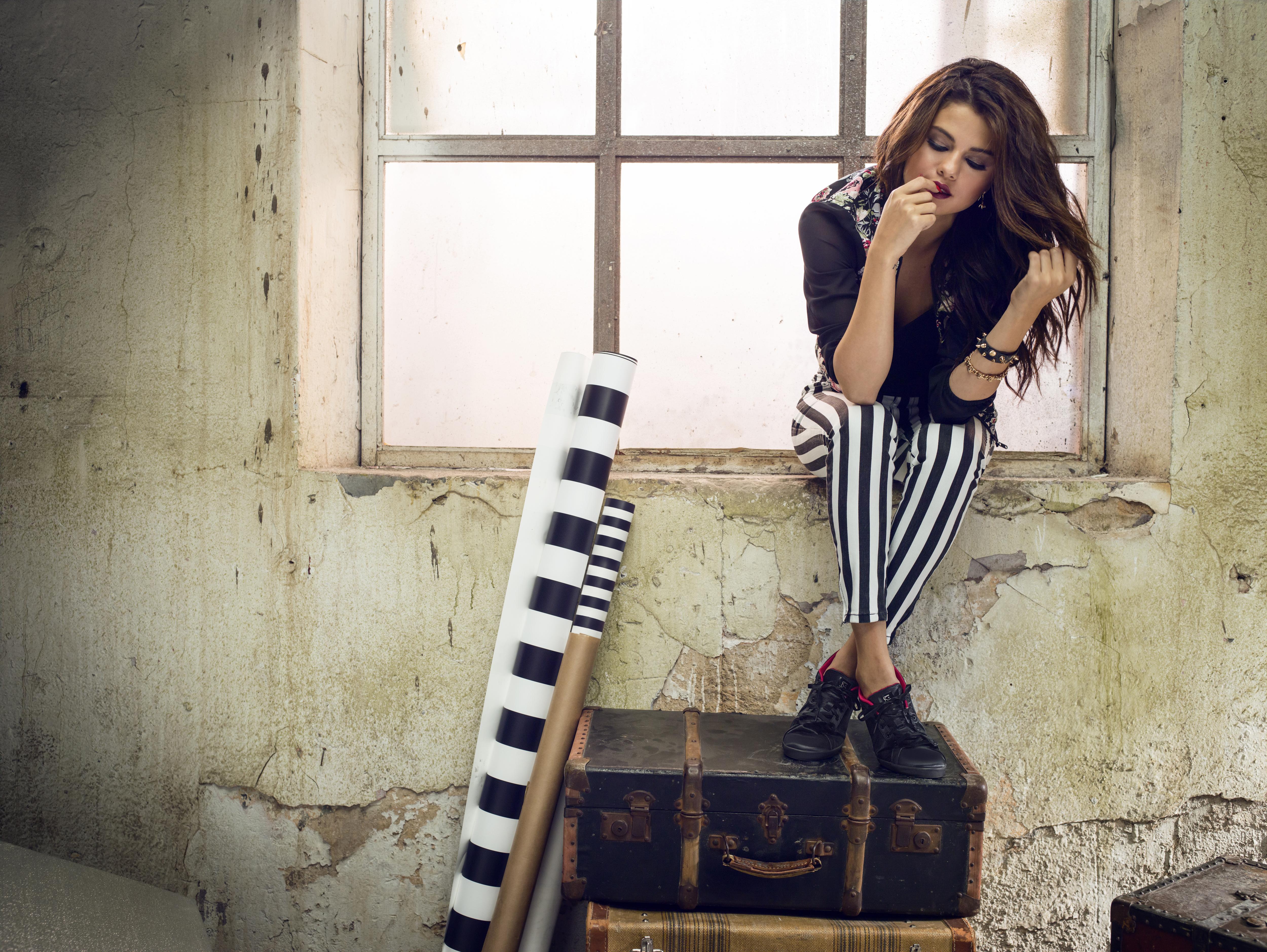 2e94467a827 Selena Gomez Is Fun + Flirty In Adidas NEO Spring 2014 Photo Shoot ...
