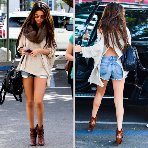 Selena Gomez Shows Off Long Legs During Day Out In L A With Her Girls See Our Big Gallery Here