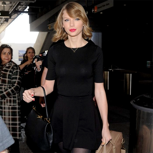 Taylor Swift - LAX Arrival - 02/12/14