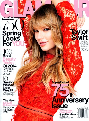 Taylor Swift, 'Glamour' USA March 2014 Cover