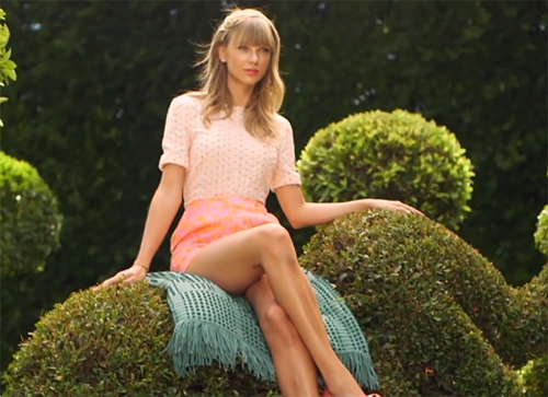 Taylor Swift, Keds Spring 2014 Campaign BTS