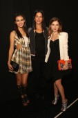 With Rebecca Minkoff and Anna Kendrick
