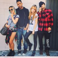 With Amber Asaly, Jean-Robert Redwine, and Bobby Brackins