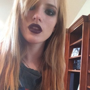 @bellathorne: Makeup test from my new movie #Amityville looking forward to starting production next week! It's a little dark...I know. A new character to try out... #twc #dimensionfilms