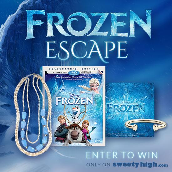 Sweety High: Frozen Escape Contest – Win Amazing Frozen Prizes!