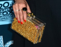 Jenna Ushkowitz (handbag detail)