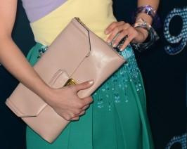 Dianna Agron (handbag detail)