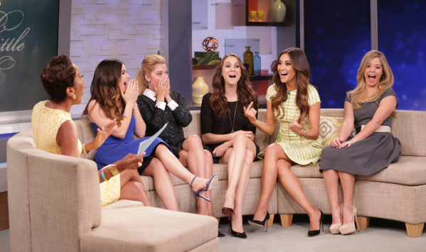 Good Morning America Home Invasion Interview : The cast of 'pretty little liars spills some details