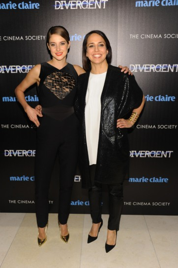 With 'Marie Claire' Editor-in-Chief Anne Fulenwide