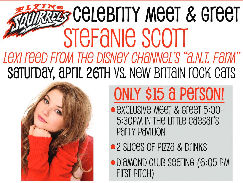 Meet Greet Stefanie Scott At The Diamond In Virginia Get The
