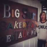 @karliekloss: delicious pit stop at the @BigSurBakery!...YUM.