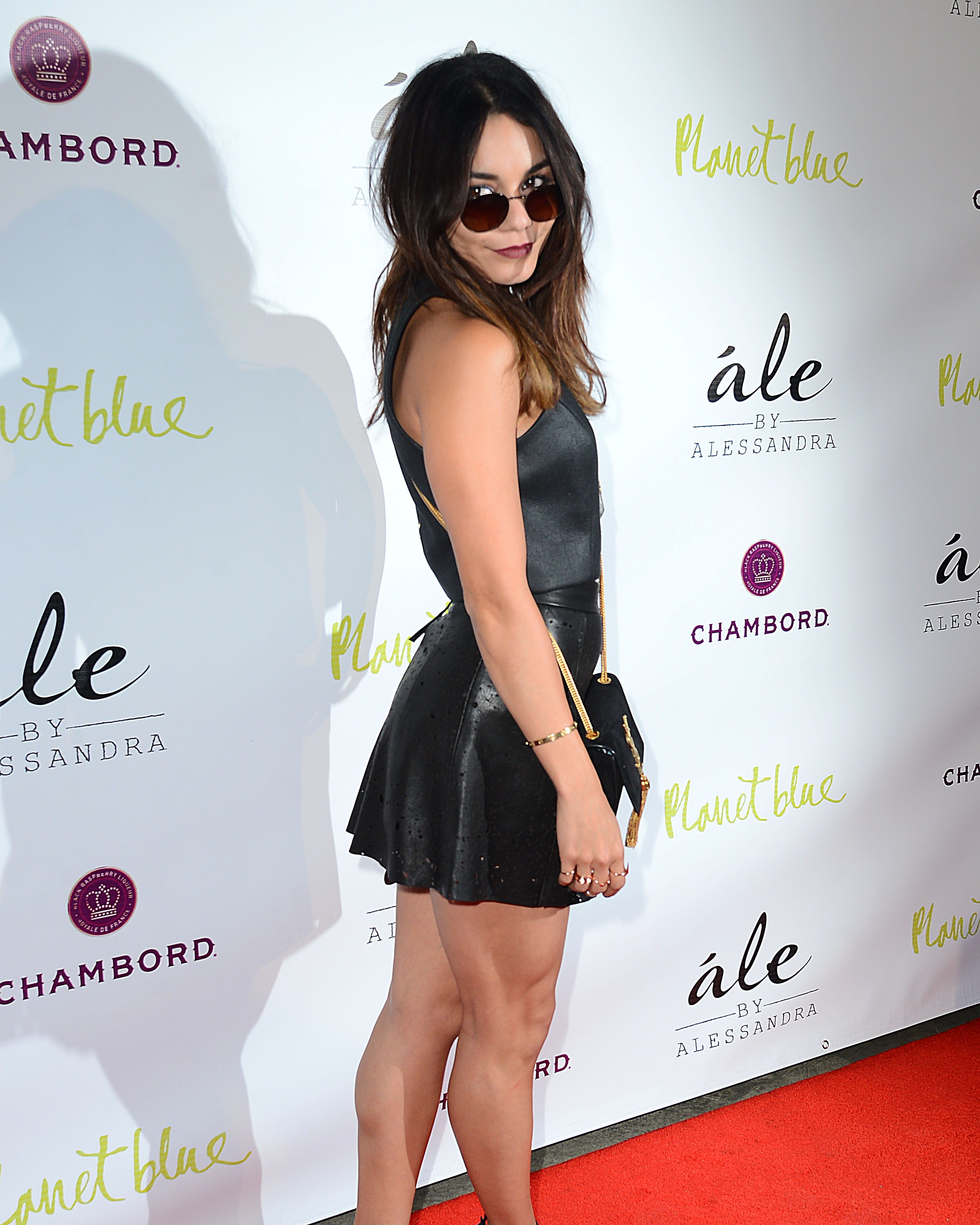Vanessa Hudgens: Legs + Leather At Ale By Alessandra ...