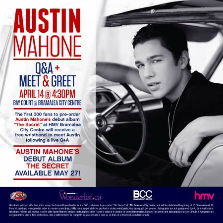 austin mahone meet and greet tickets california