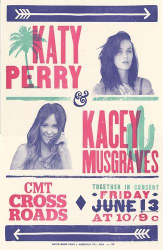 katy perry kacey musgraves cmt crossroads