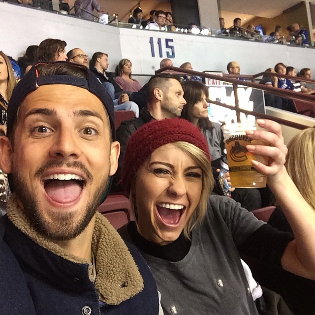 Jean Luc Bilodeau and chelsea kane