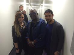 @YO_RANDYJACKSON: Look who I found in the hallway here at @AmericanIdol @WValderrama @ddlovato