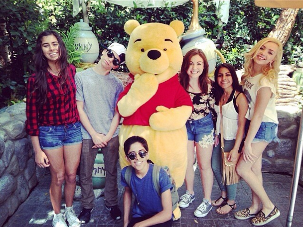 Karan Brar & Cameron Boyce Enjoy A Disney Day – TeenInfoNet