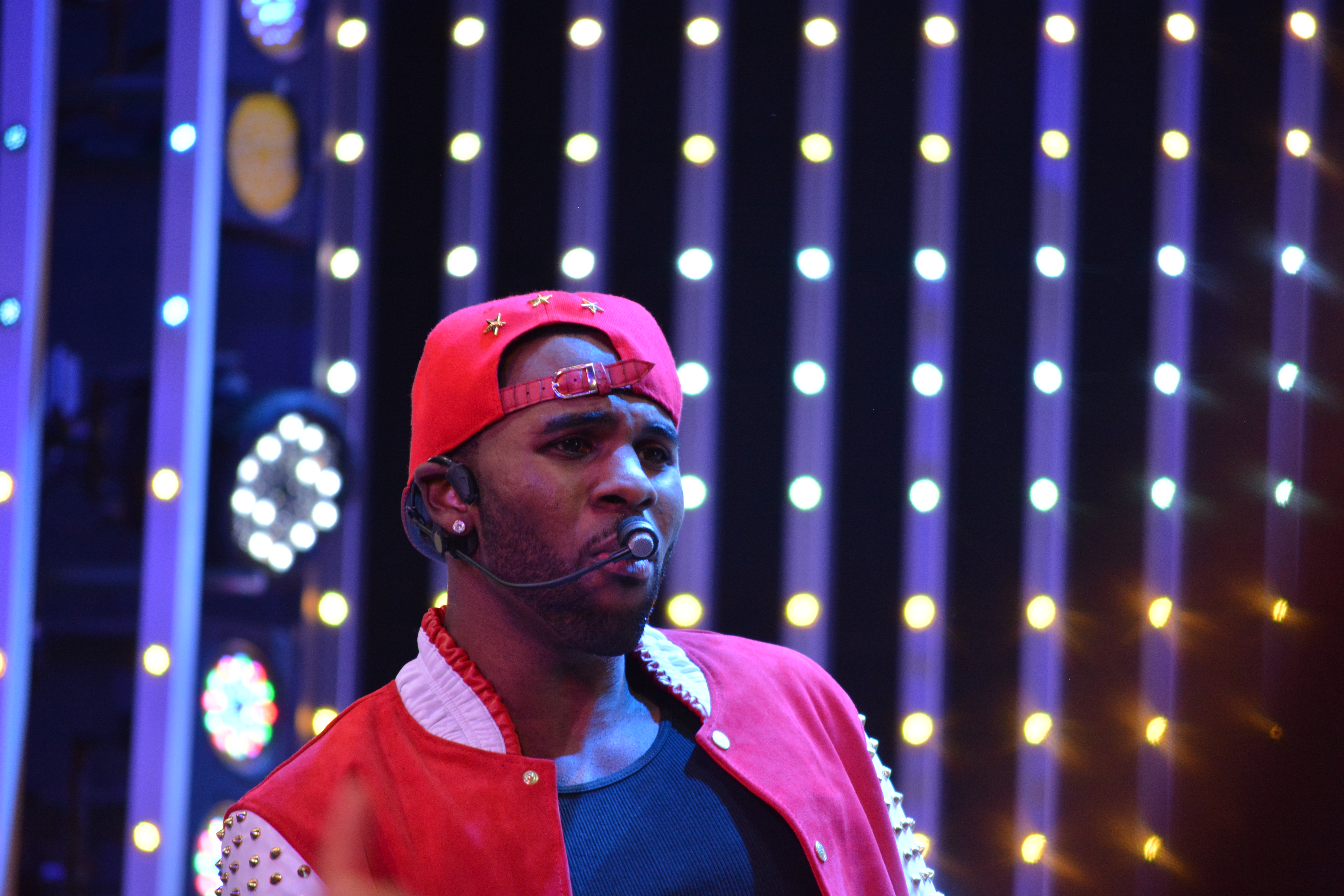 Jason Derulo And Jake Miller Perform At The Universal Citywalk Five