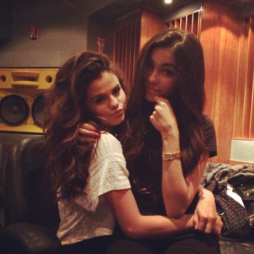With Madison Beer