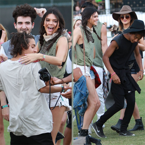 moises arias steals a dance from kendall jenner at