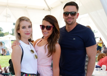 With Emma Roberts and Mark Salling