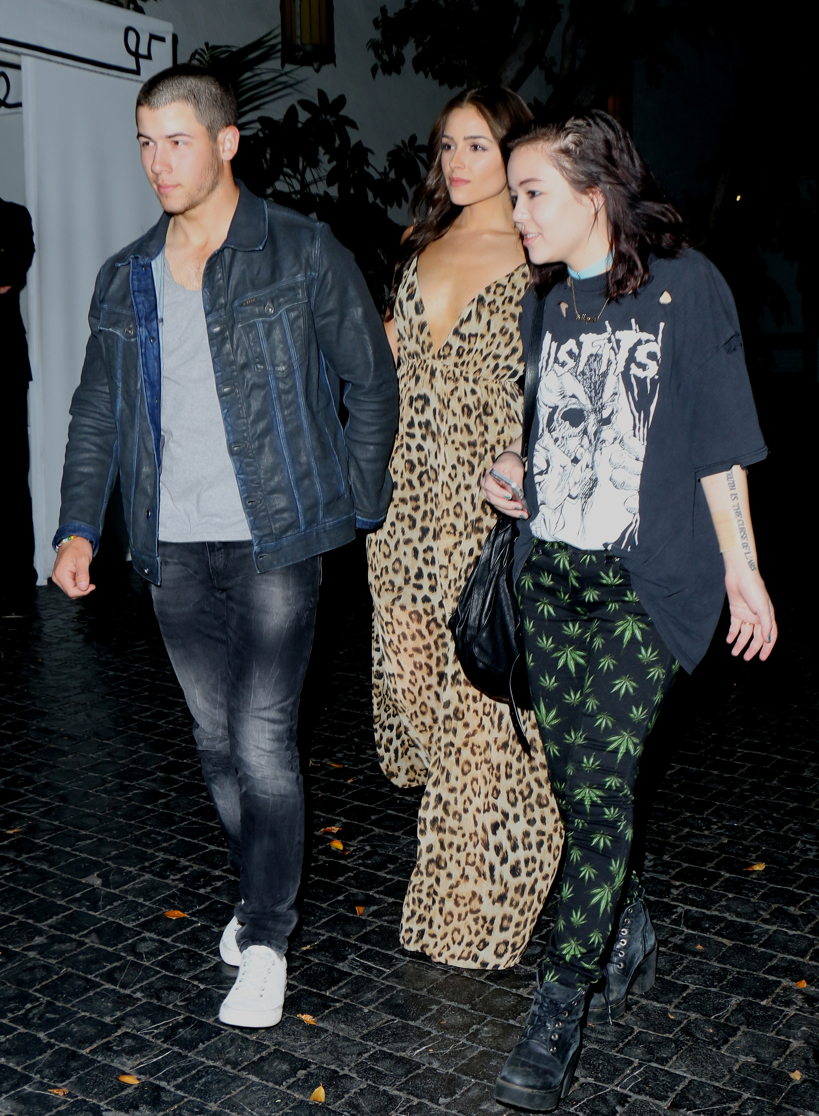 Nick Jonas His Fresh Buzzcut Hits Chateau Marmont With