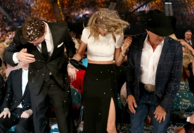 With Austin Swift and George Strait