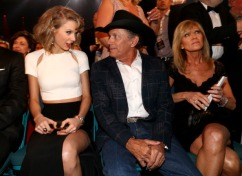 With George Strait and Norma Voss