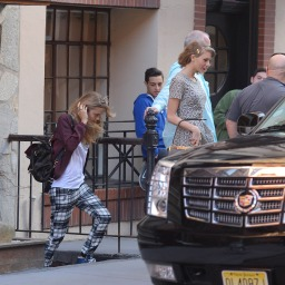 Taylor Swift and Cara Delevingne get lunch at Blue Ribbon Sushi in Soho