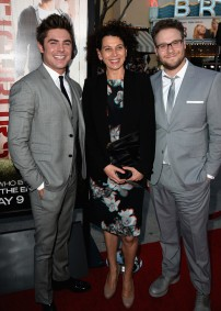 With Universal Pictures Co-Chairman Donna Langley and Seth Rogen